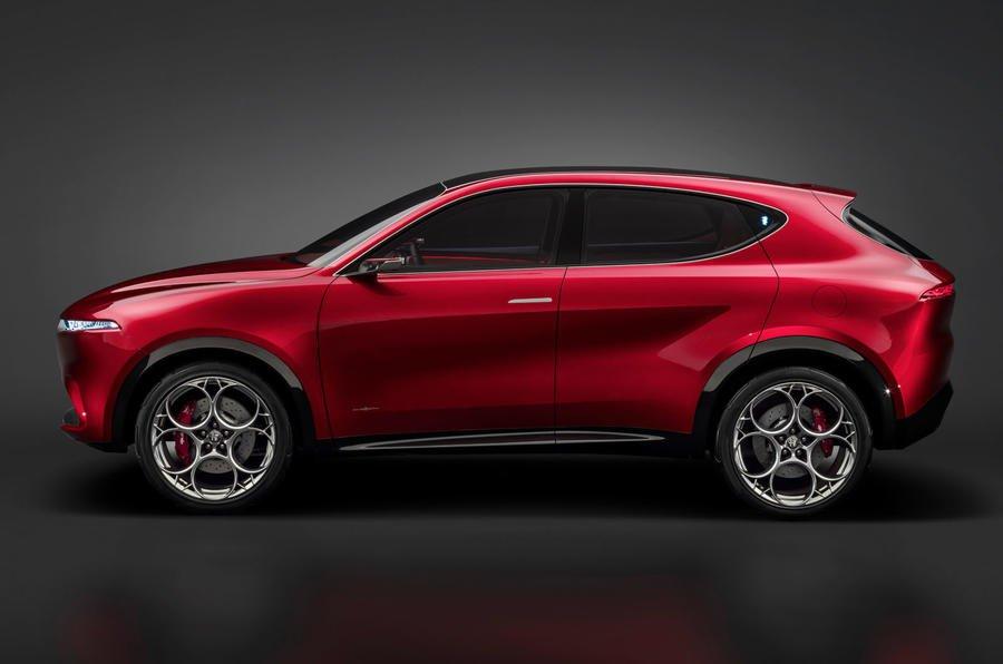 Alfa Romeo Tonale concept side
