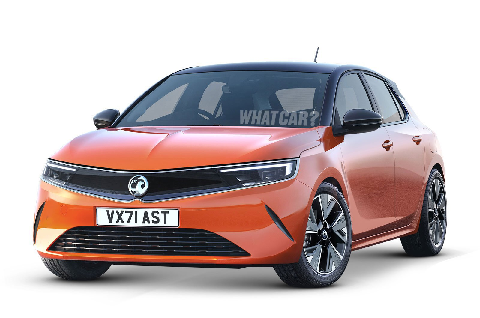 2021 Vauxhall Astra render with watermark