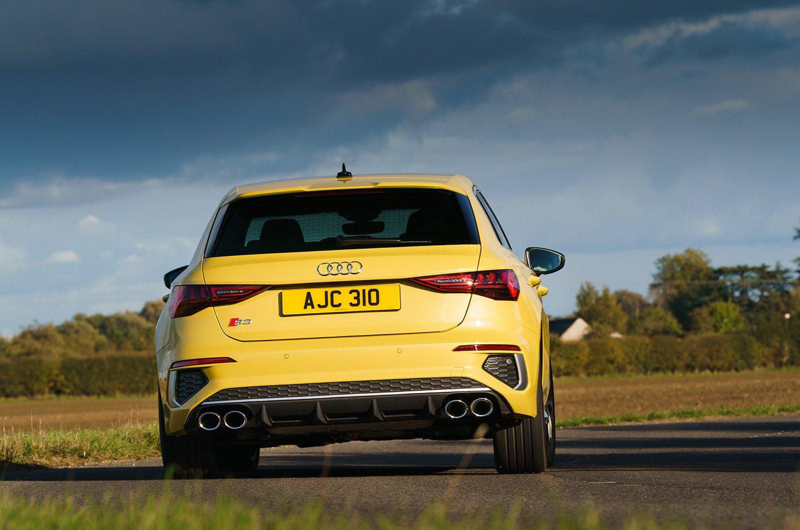 Audi S3 2020 rear cornering