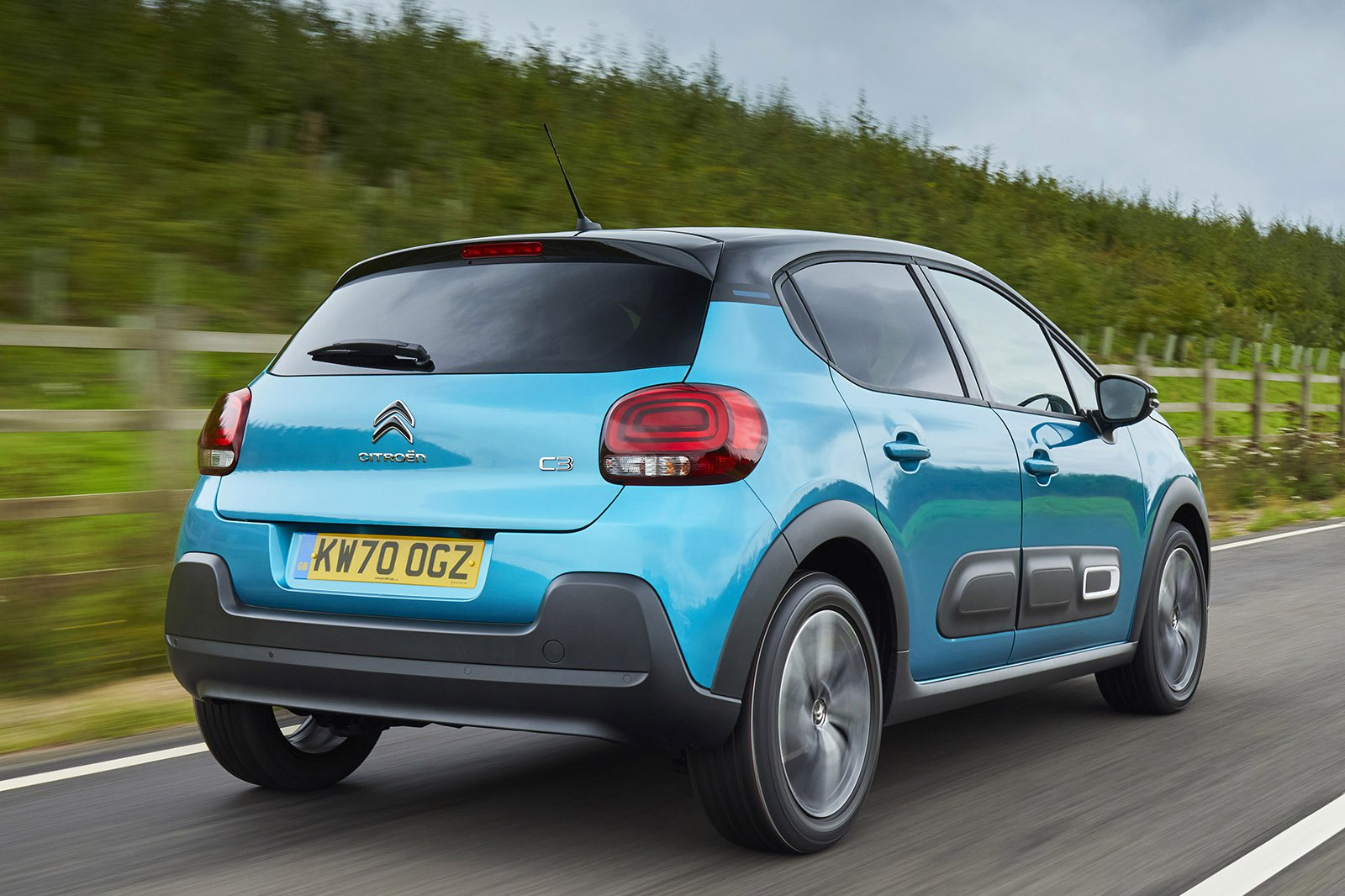 Citroën C3 2021 rear static
