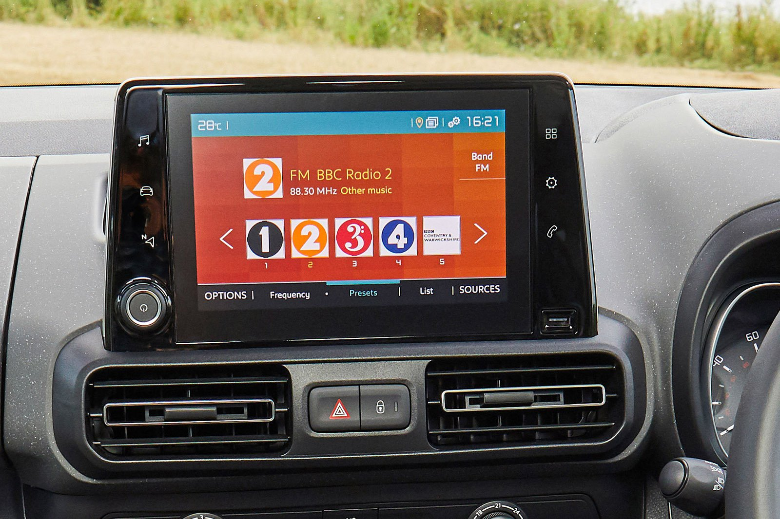 Citroën C3 2020 infotainment
