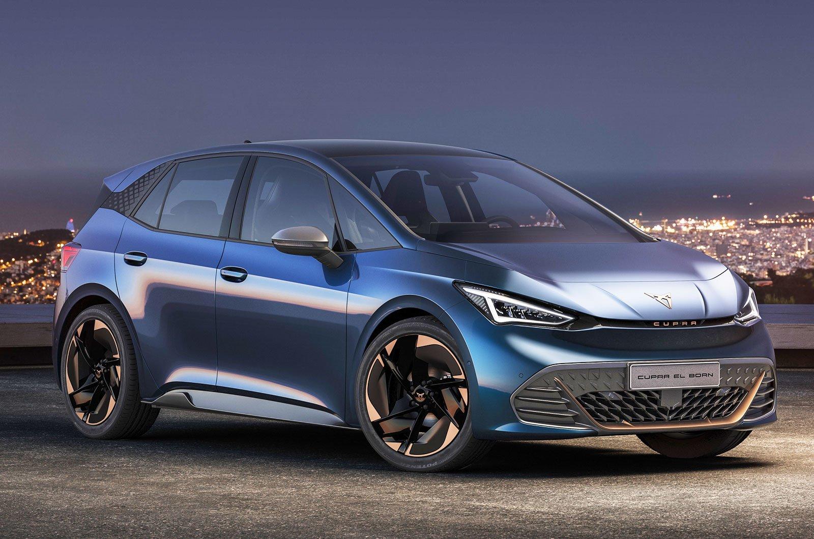 2021 Cupra el-Born concept front