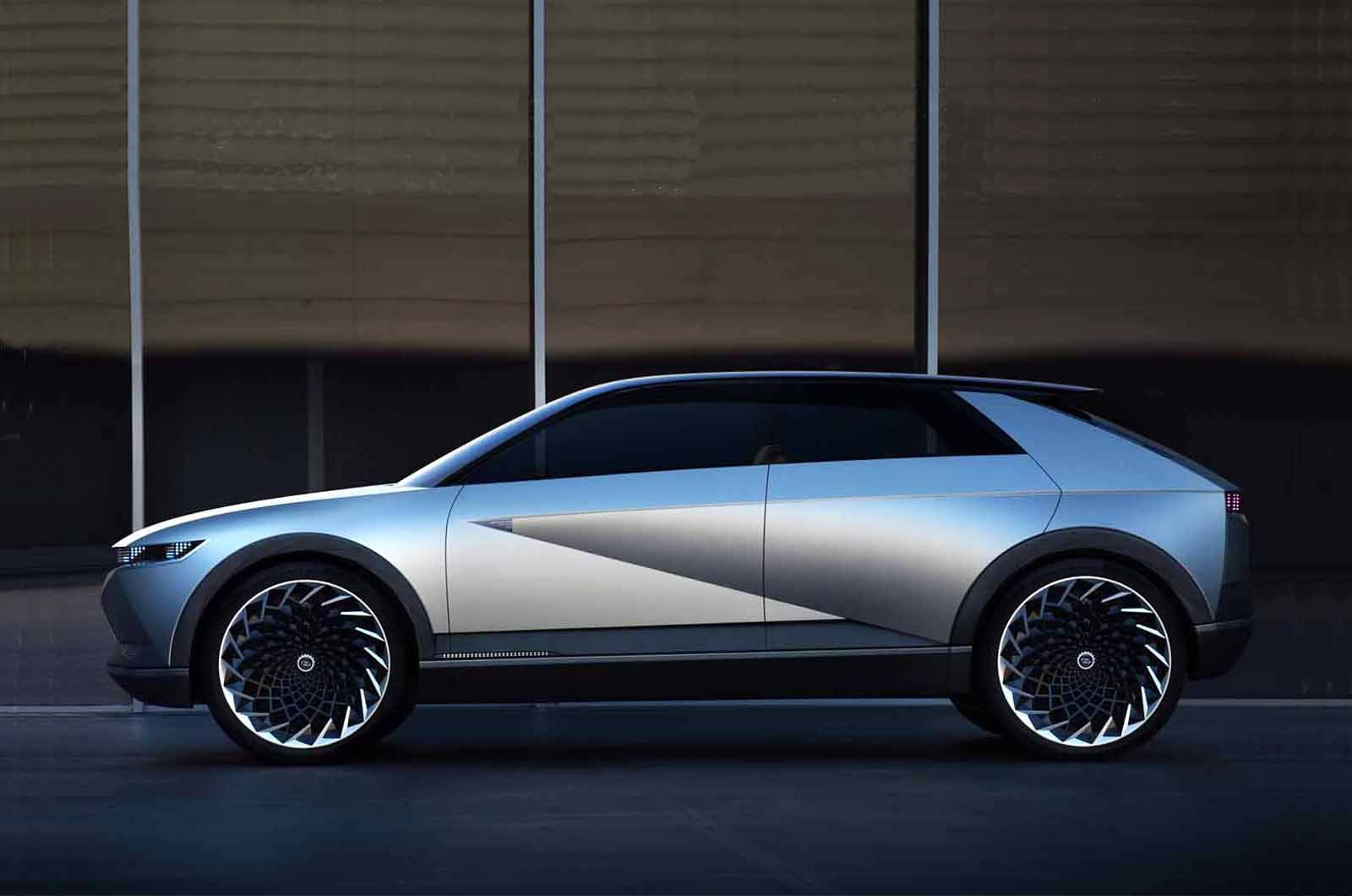 Hyundai 45 concept side