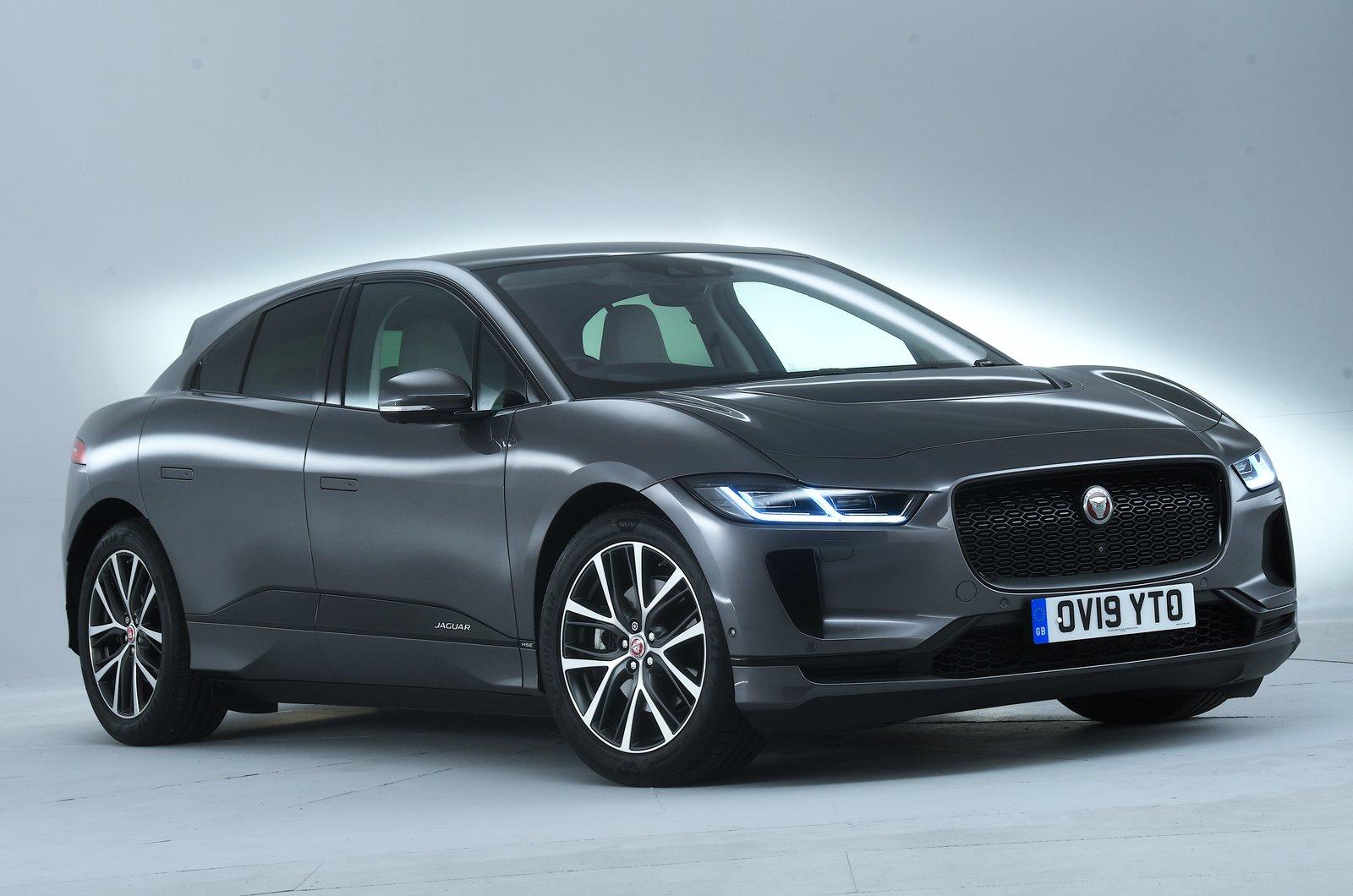 Jaguar I-Pace front studio