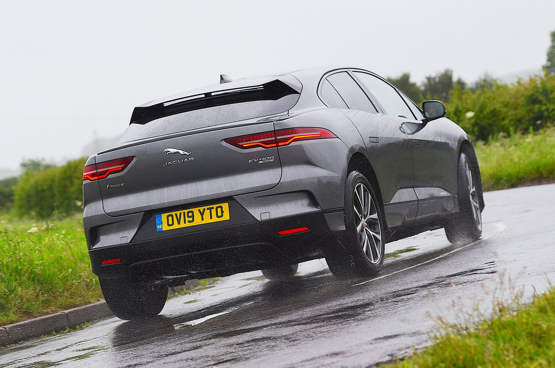 Jaguar I-Pace rear action