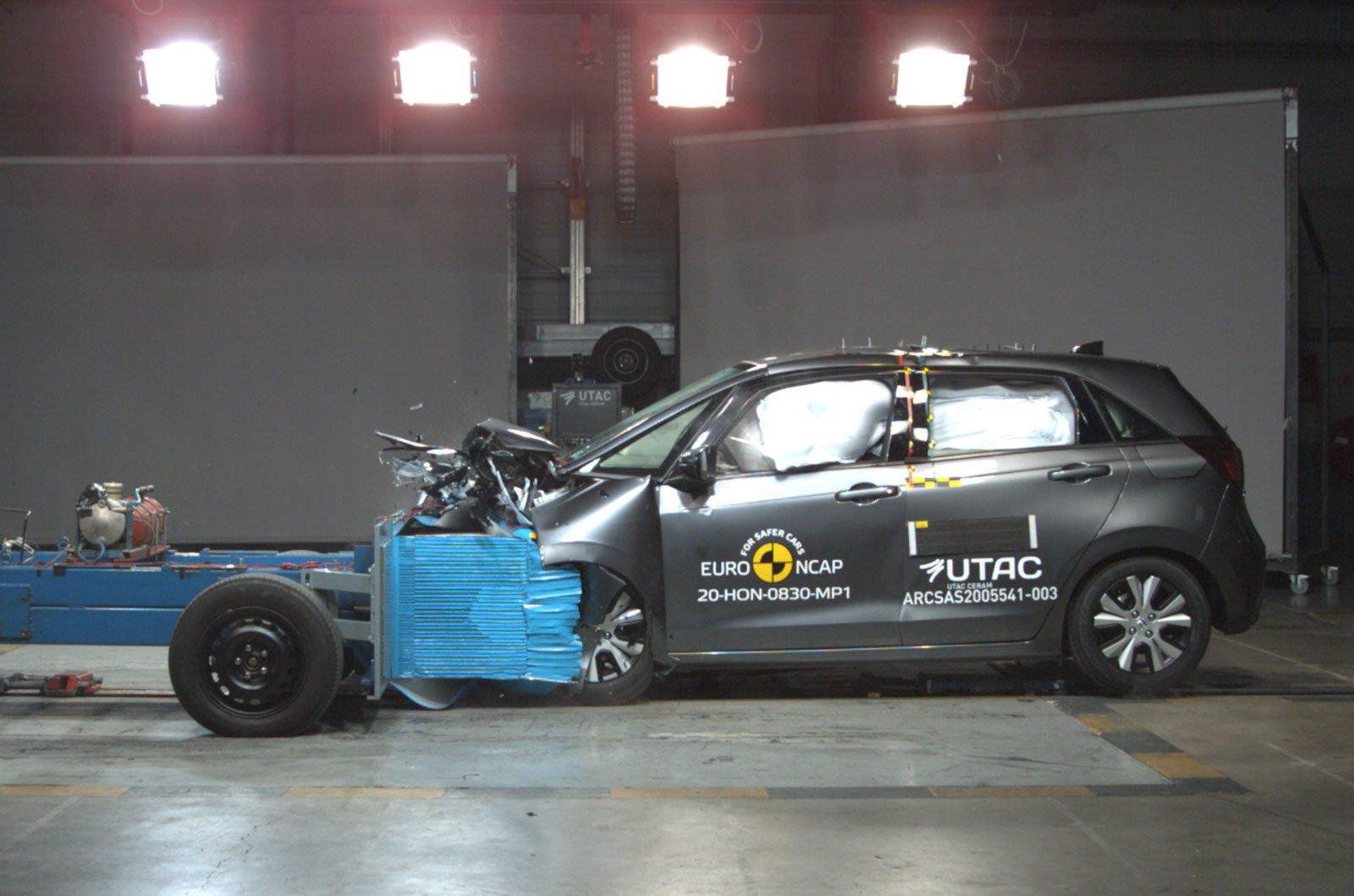 Honda Jazz crash test