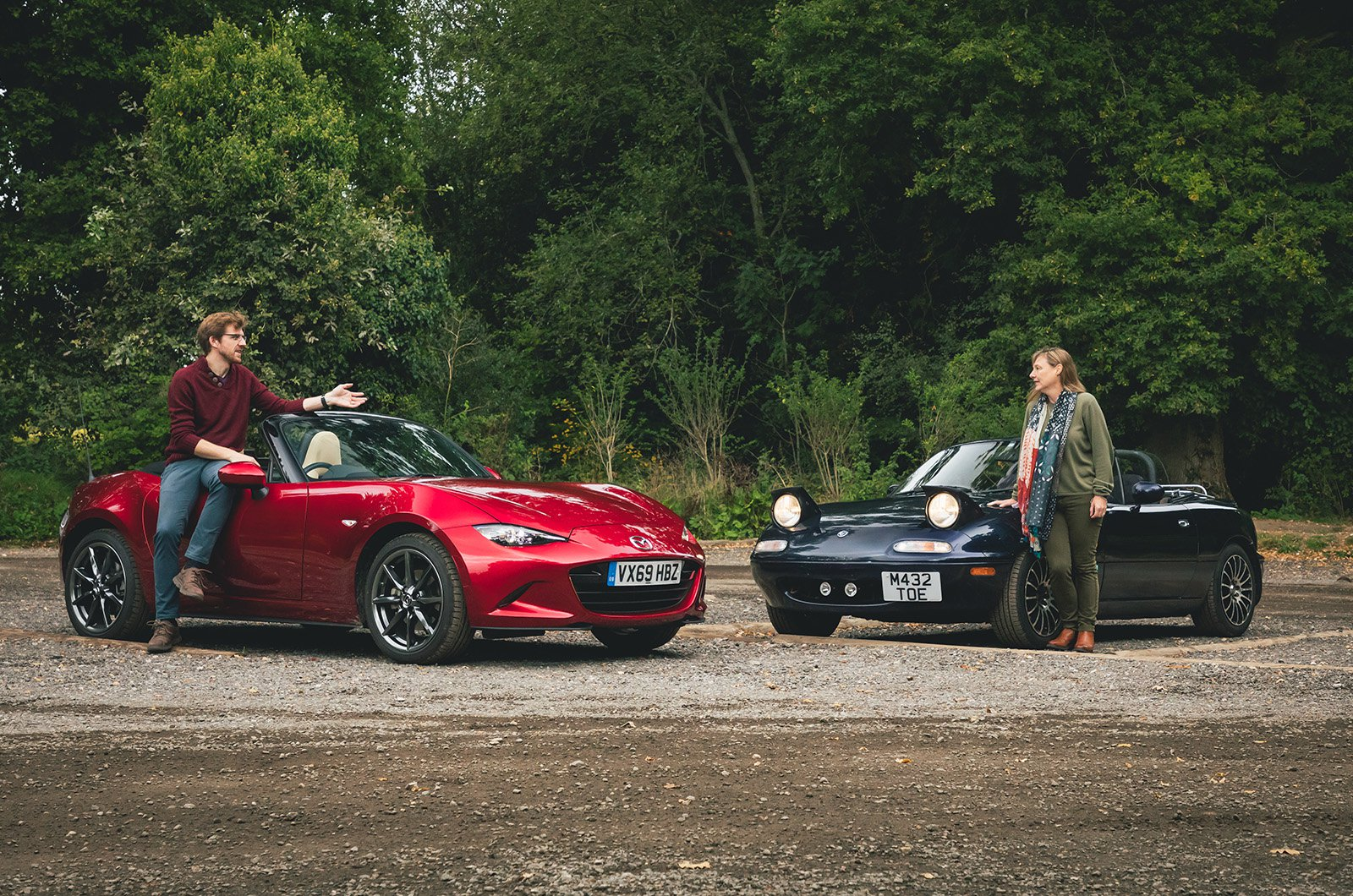 Long term Mazda MX-5 with Eunos Roadster