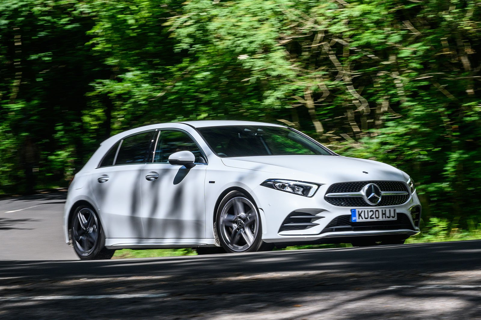 Mercedes-Benz A-Class A250 2020 front wide tracking