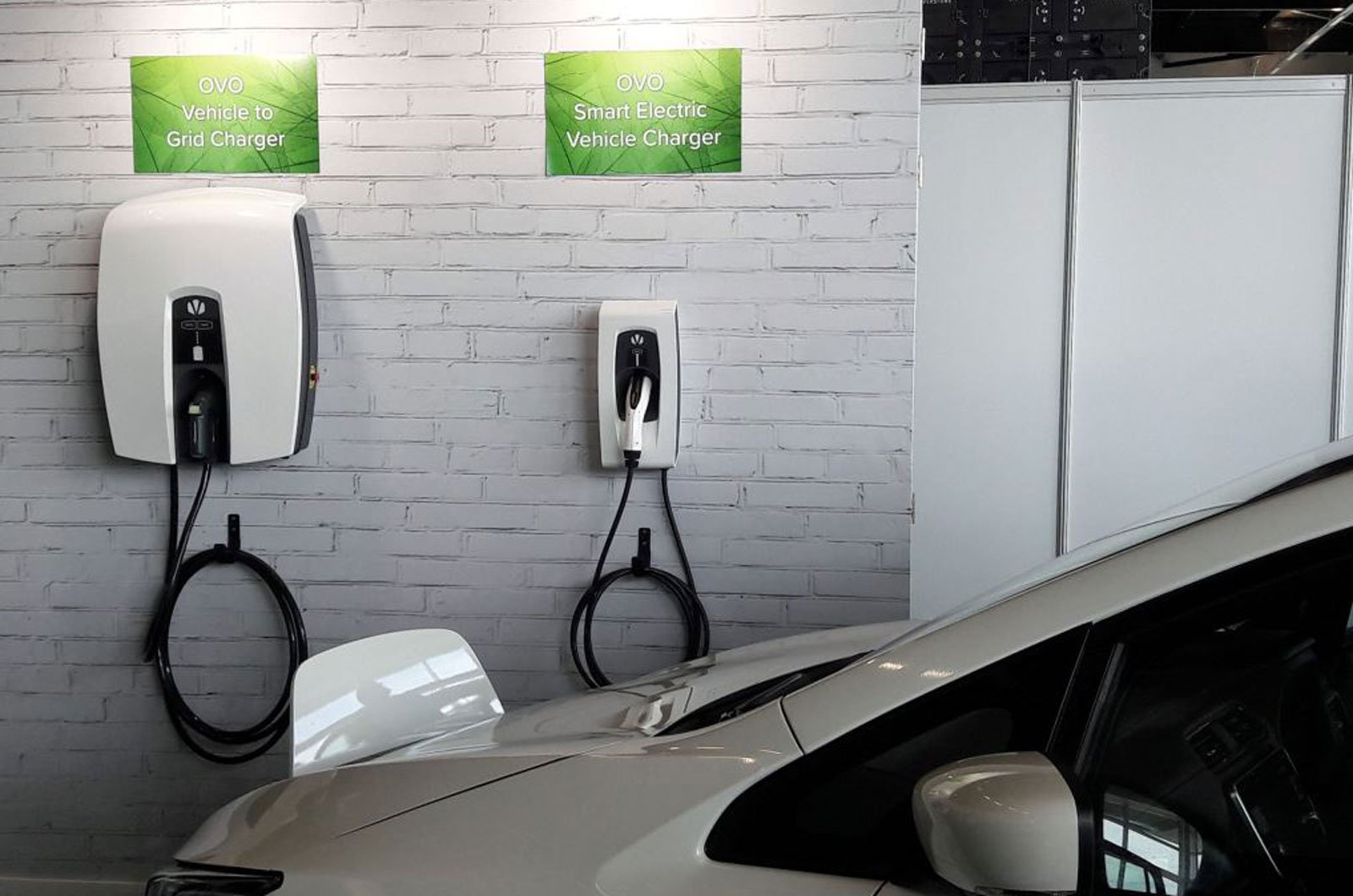 Vehicle to grid EV charger