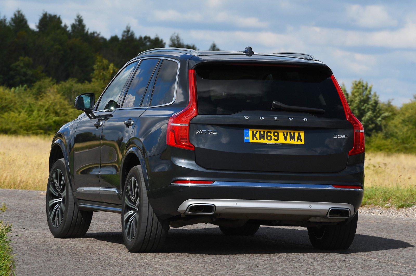 Volvo XC90 rear cornering