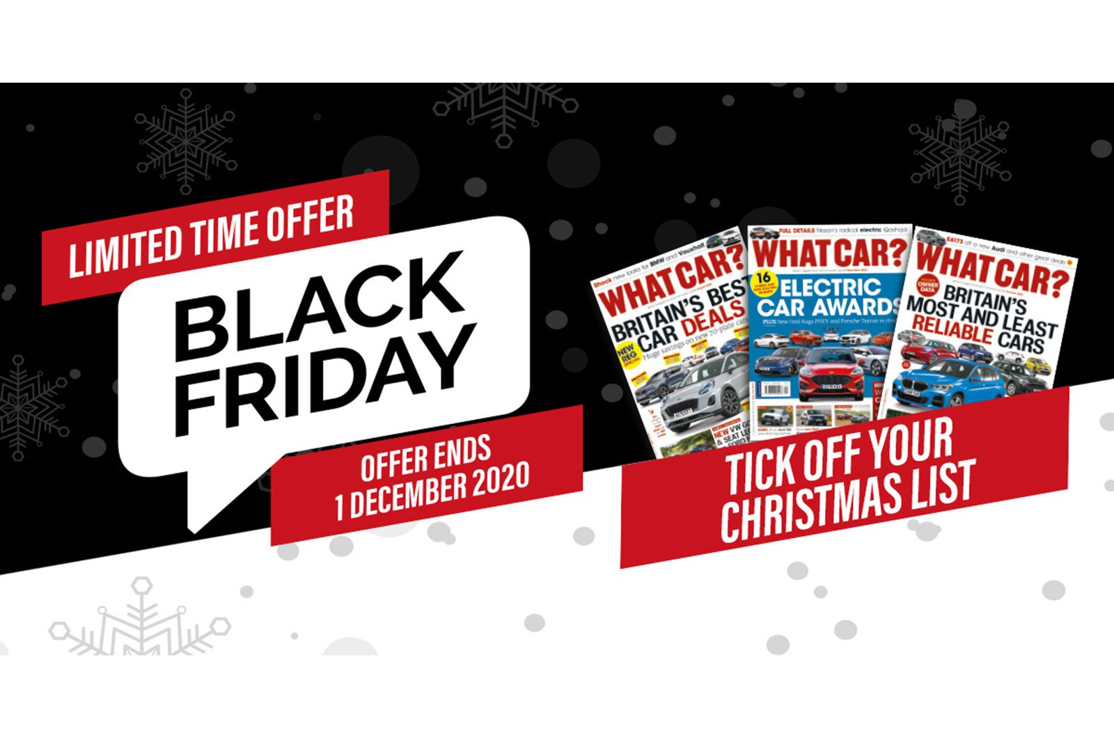 What Car? Black Friday subscriptions offer