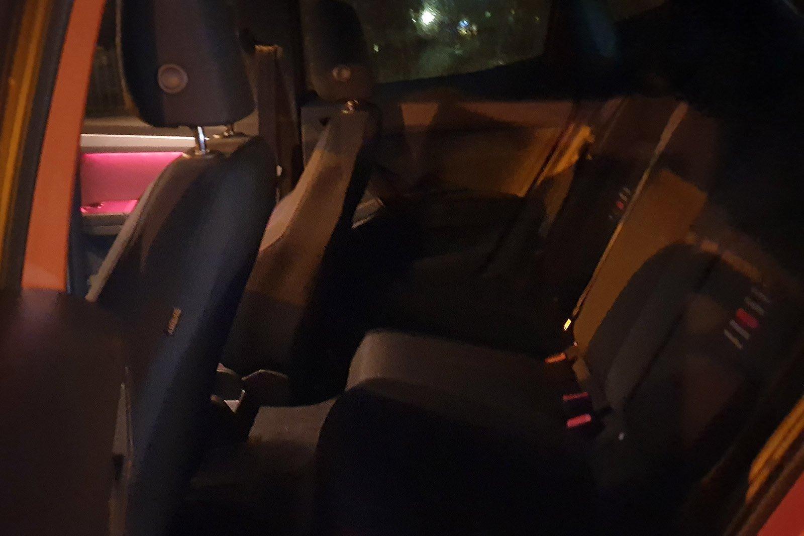 Seat Ibiza 2020 Long Term dark rear seats