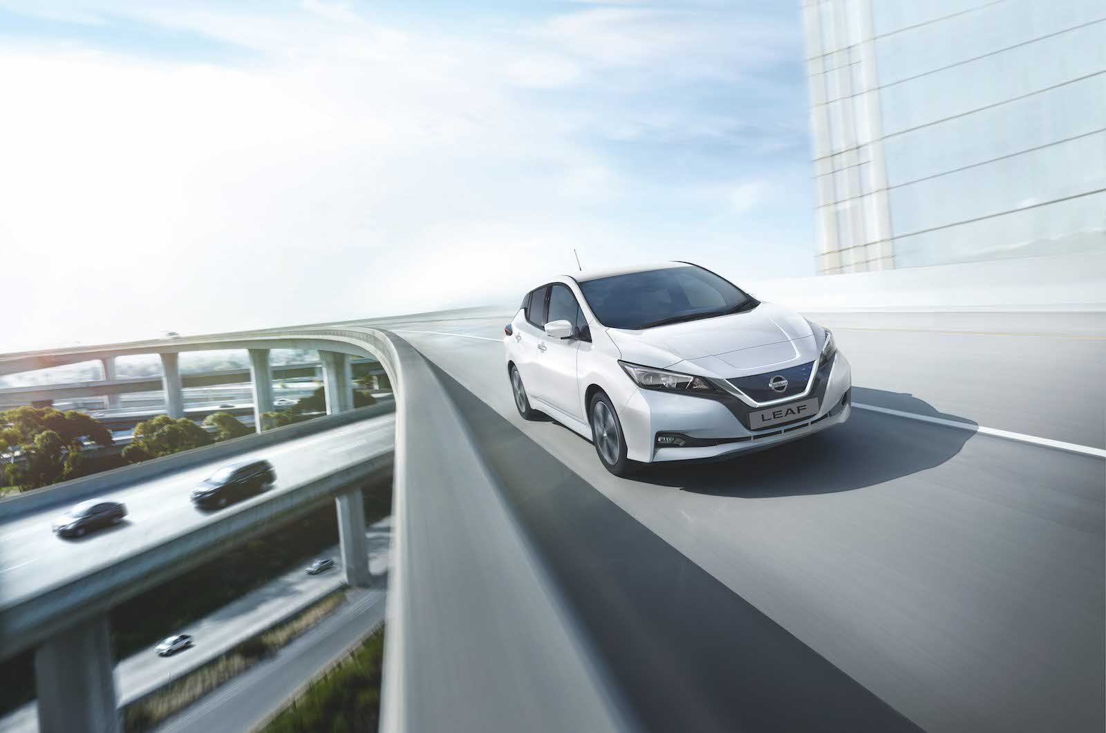 NissanConnect is the smart way to navigate city meetings in a company car