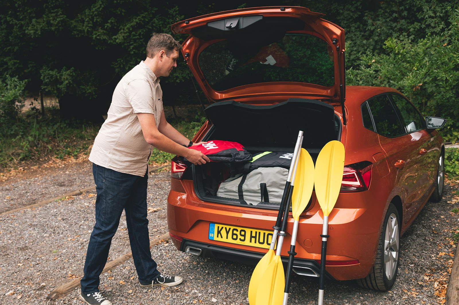 Seat Ibiza 2020 long term loading boot