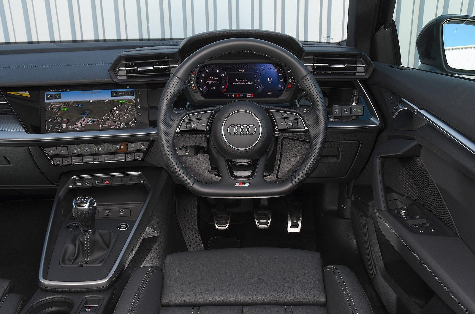 Audi A3 dashboard