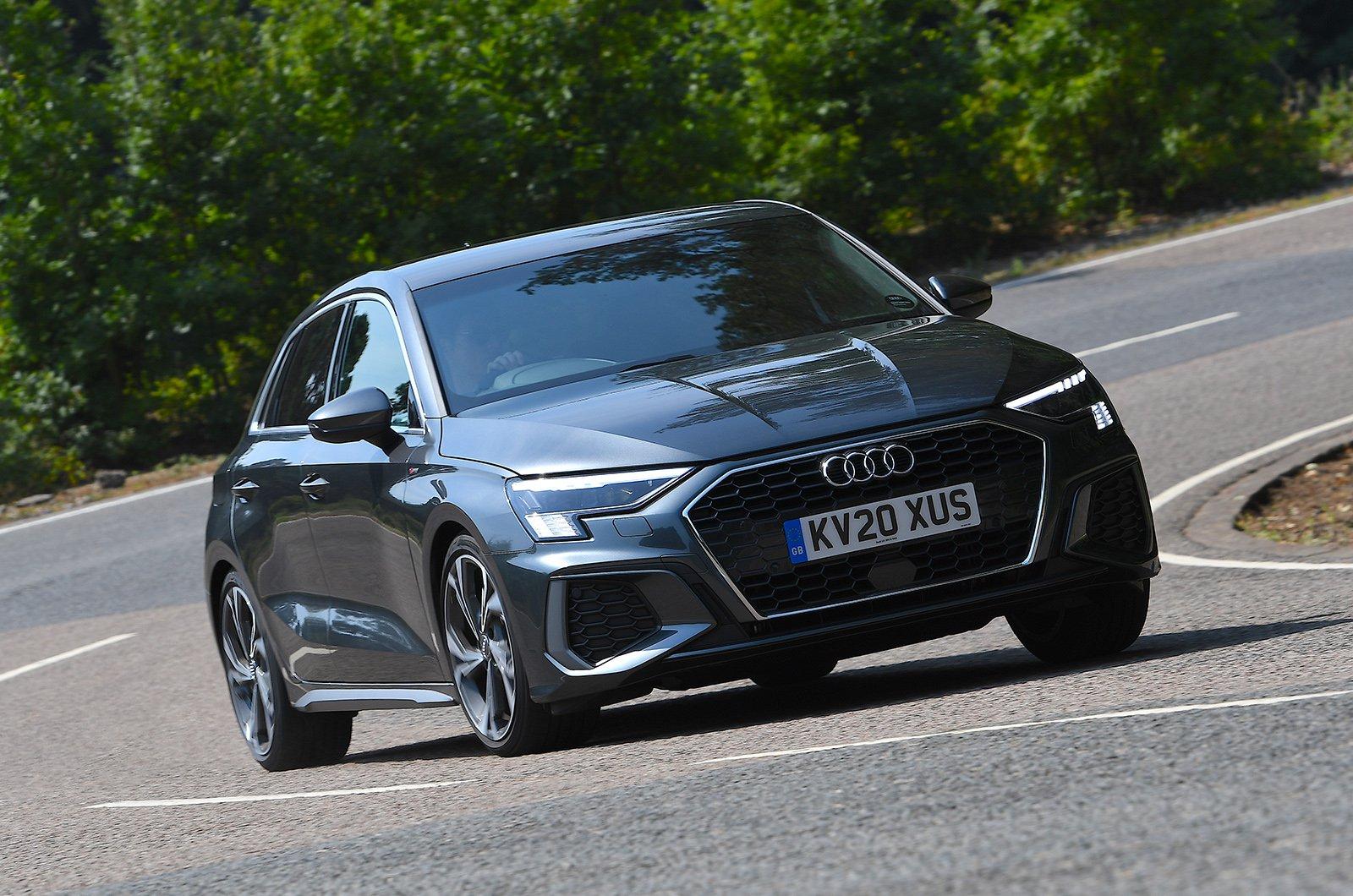 Audi A3 front corner