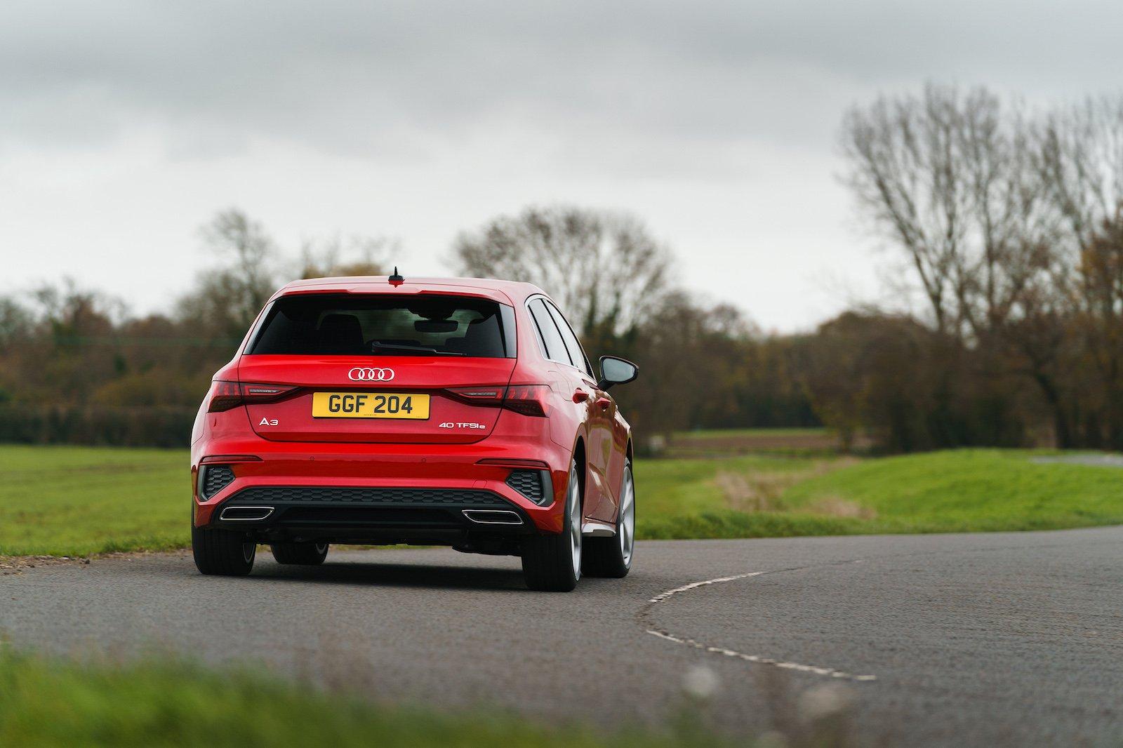 2021 Audi A3 40 TFSIe rear