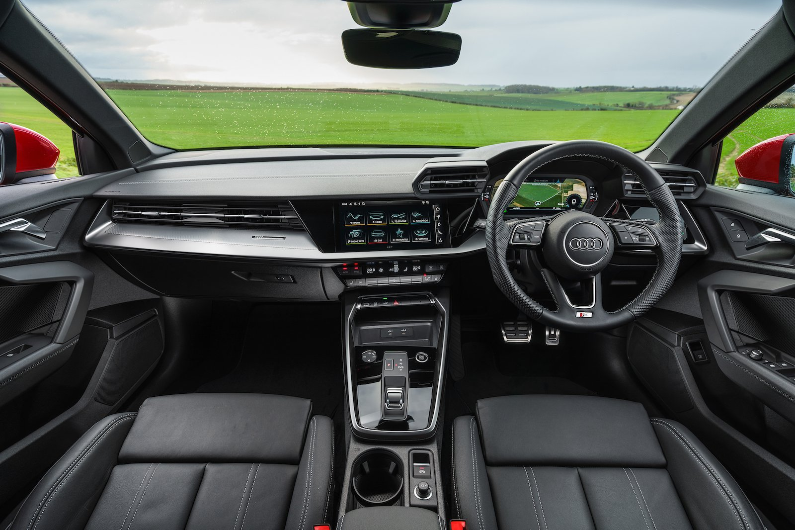 2021 Audi A3 40 TFSIe dash