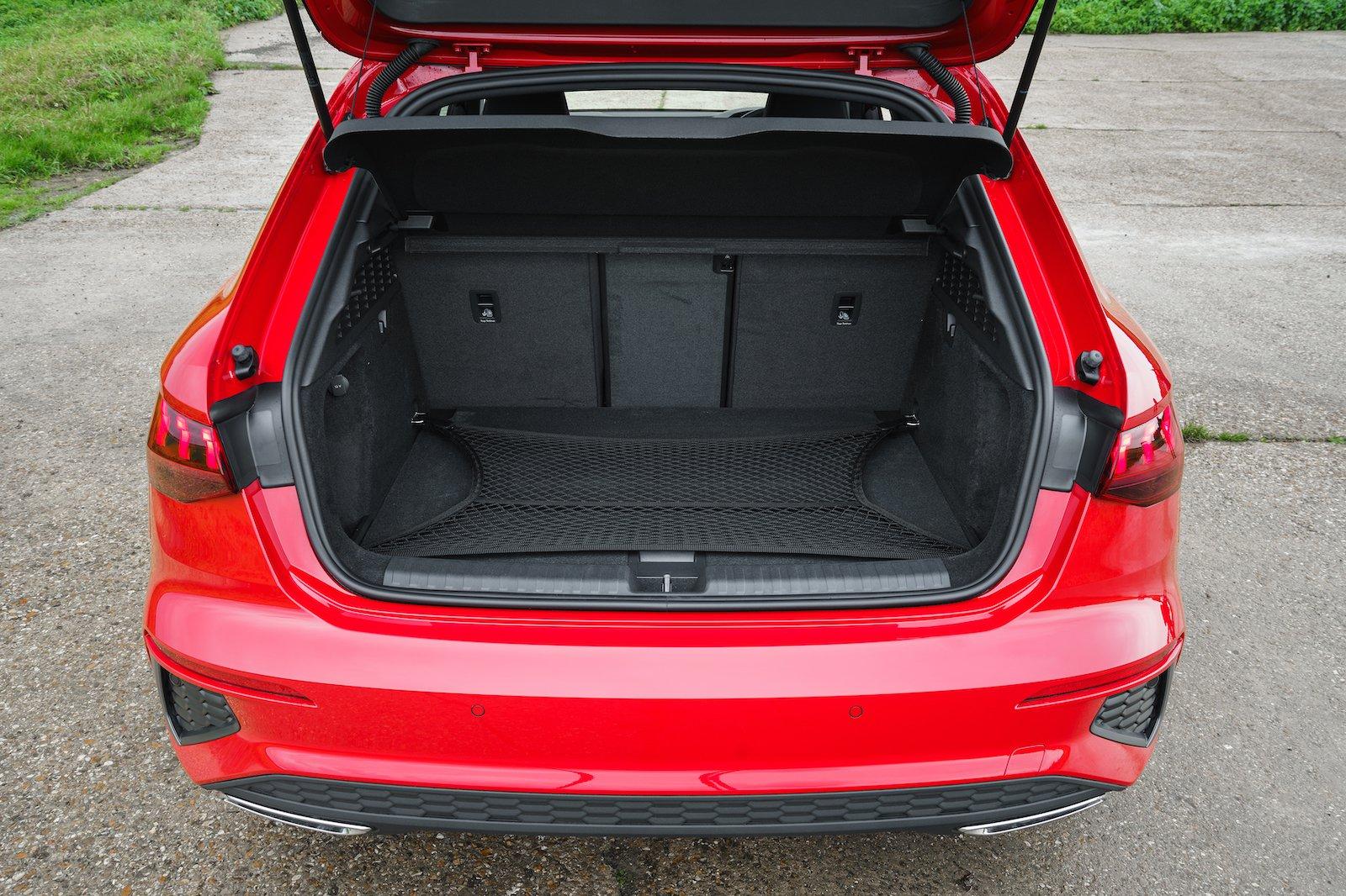 2021 Audi A3 40 TFSIe boot