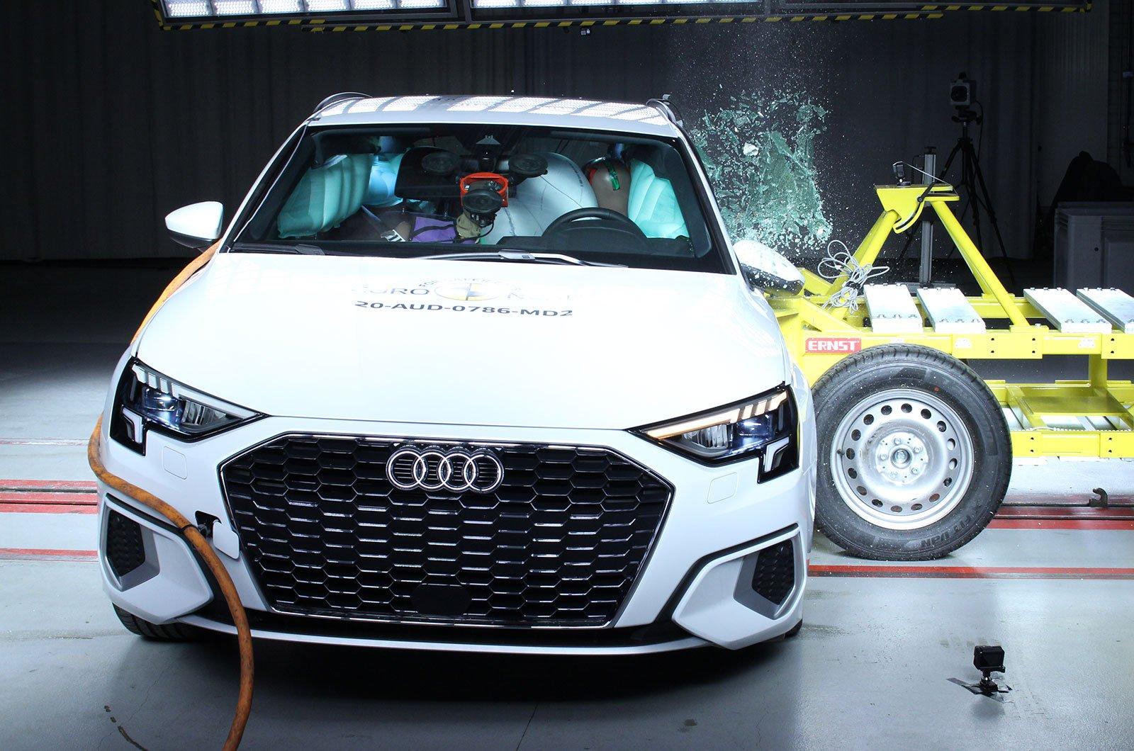 Audi A3 crash test