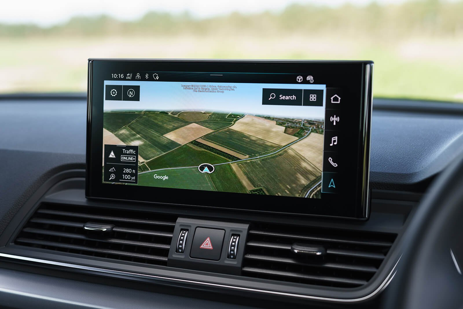 Audi Q5 2021 Infotainment screen