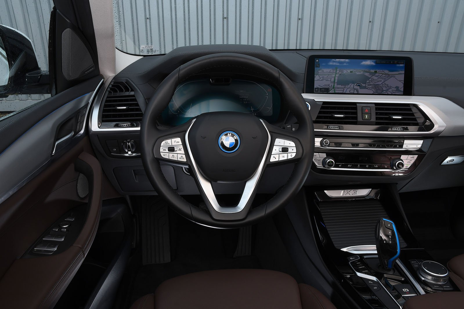 BMW iX3 2020 Dashboard