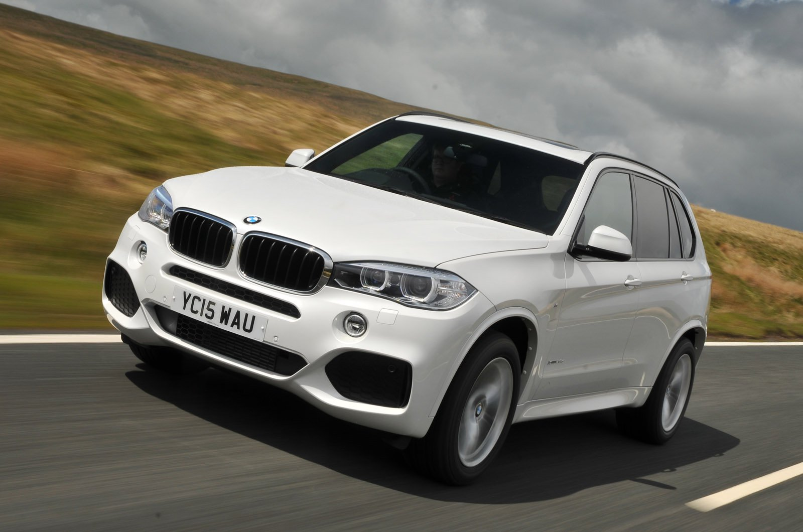 BMW X5 2015 front