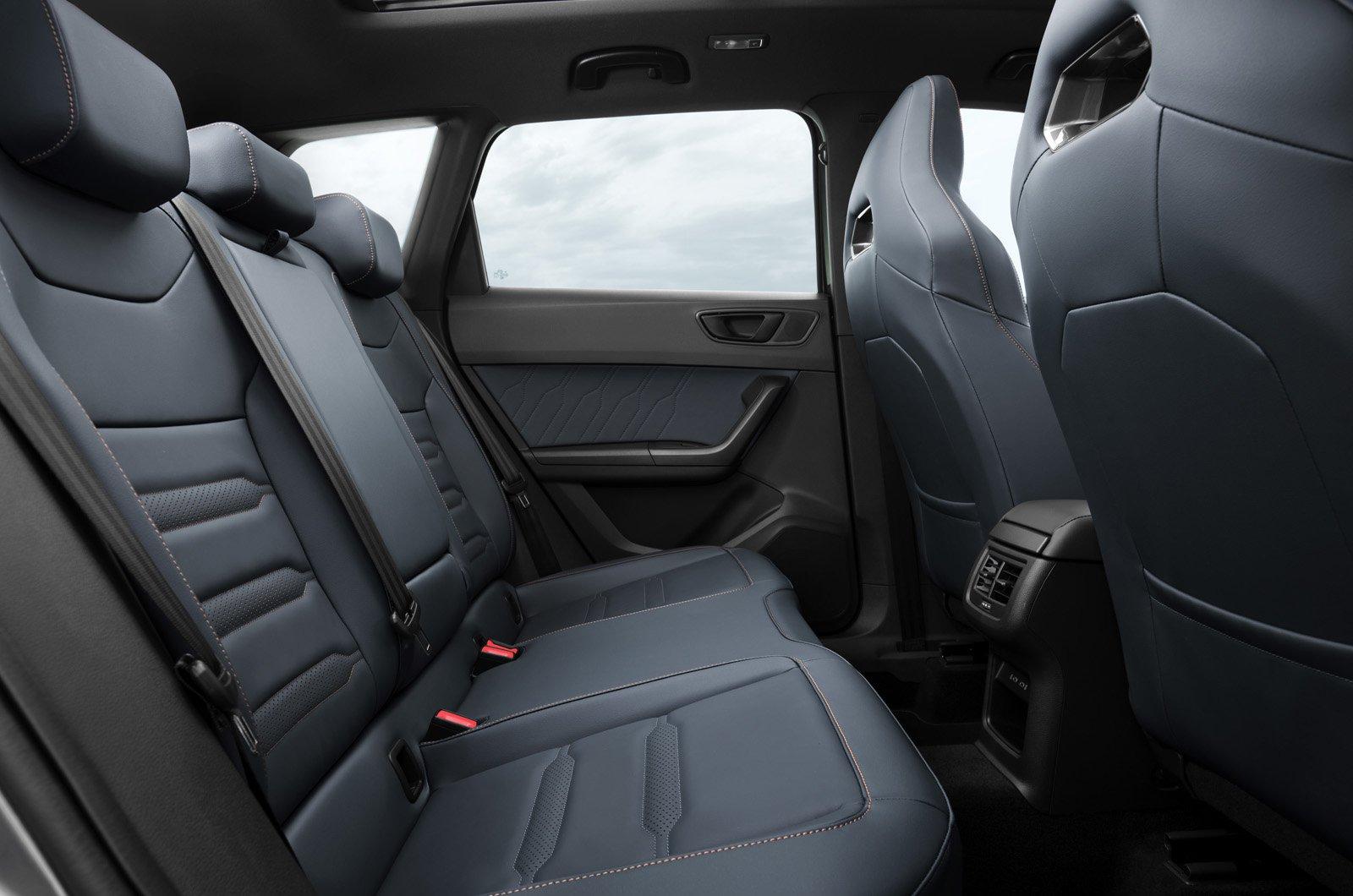 Cupra Ateca 2021 rear seats