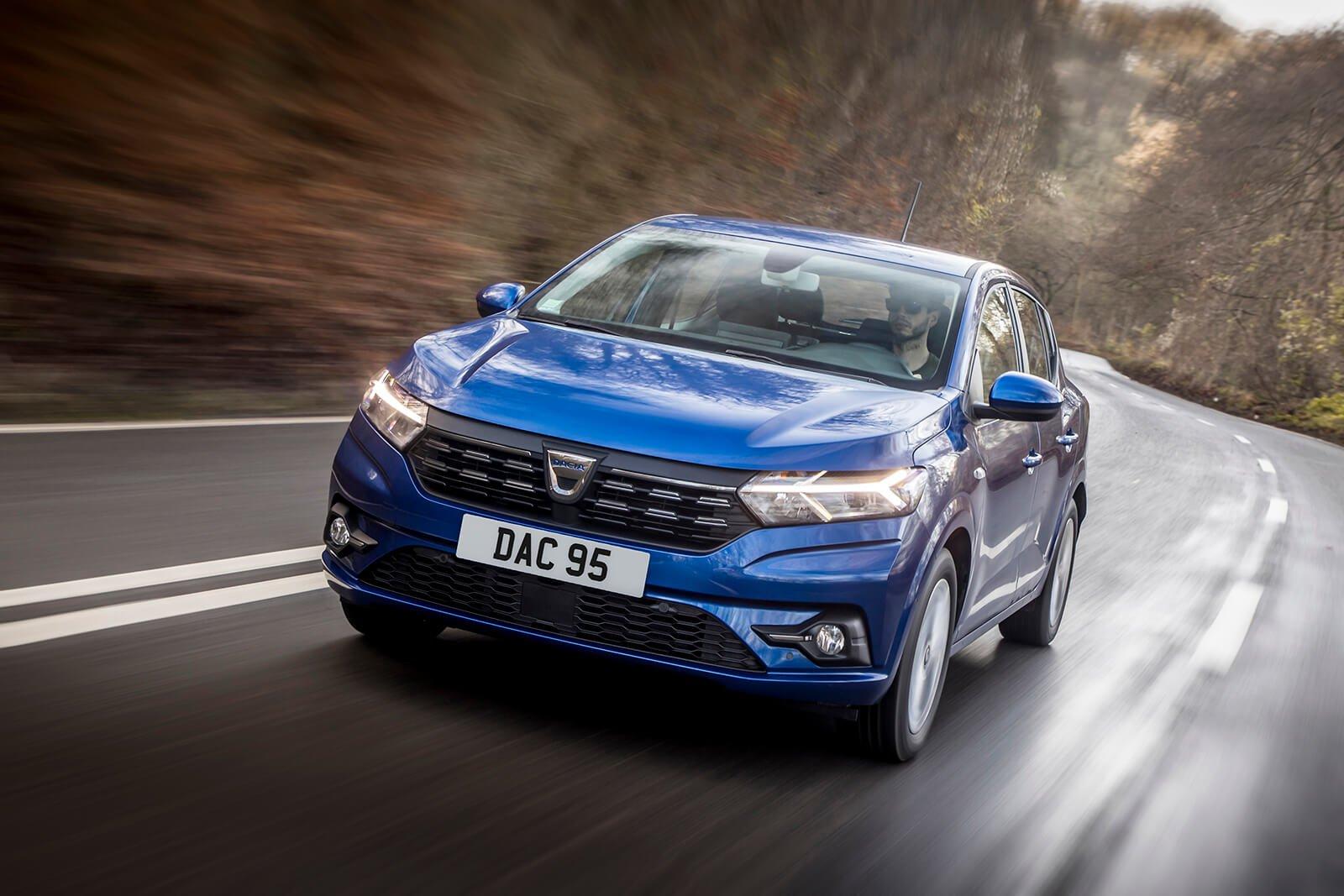 Dacia Sandero 2021 Anteriore 3/4 inseguimento