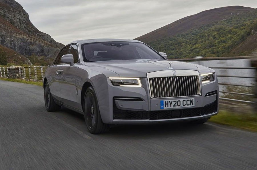 2020 Rolls-Royce Ghost front