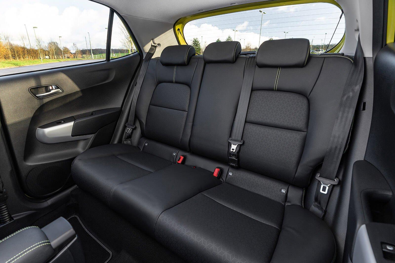 Kia Picanto 2021 Rear seats