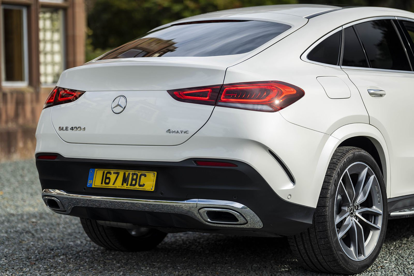Mercedes GLE Coupé Rear 3/4