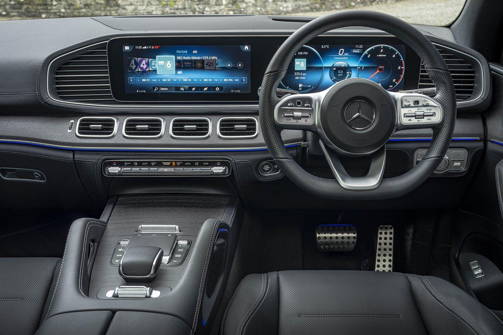 Mercedes GLE Coupé Dashboard