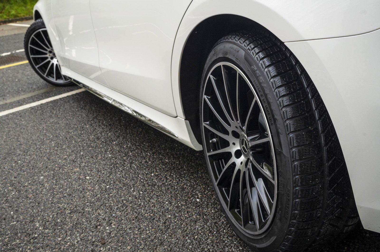 Mercedes S-Class 2021 four-wheel steering