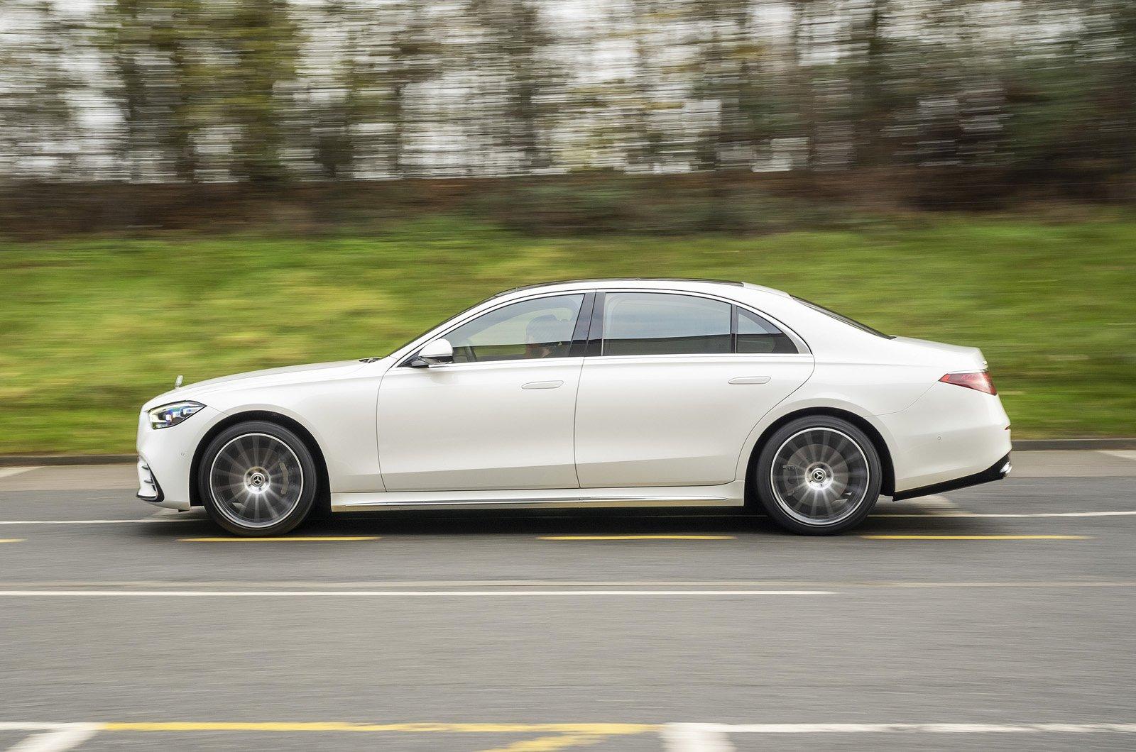 Mercedes S-Class 2021 side
