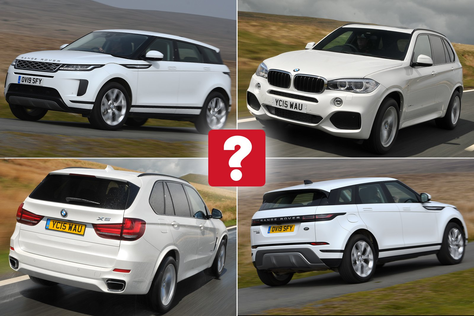 New Range Rover Evoque vs used BMW X5