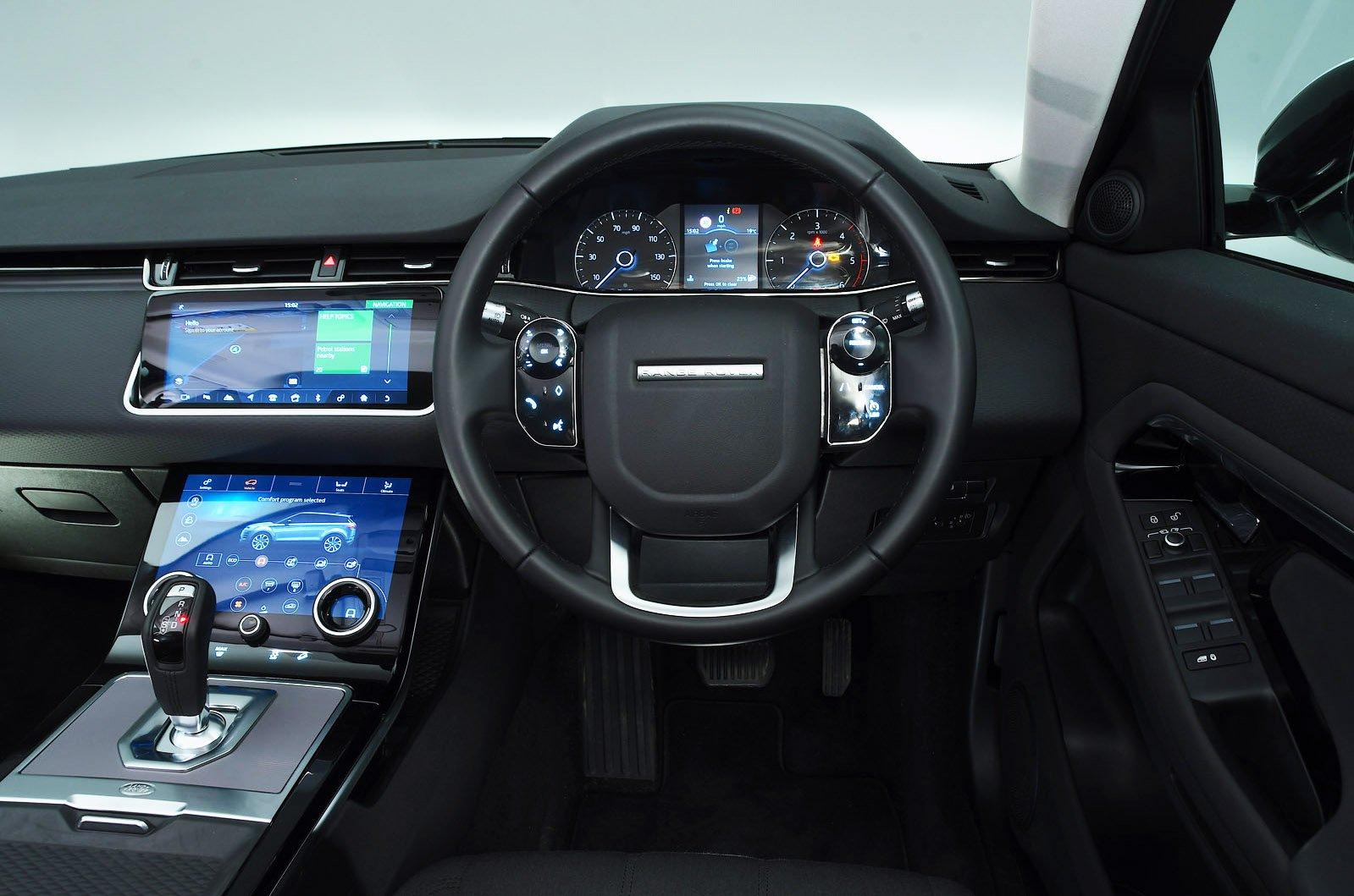 Range Rover Evoque 2020 dashboard