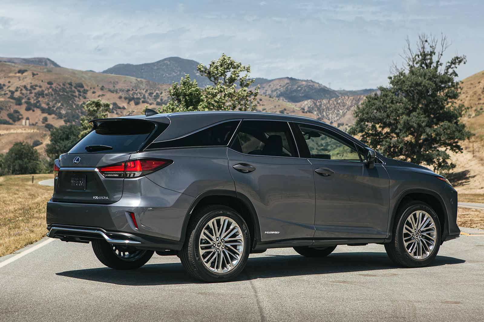 Lexus RX L LHD 2019 right rear static