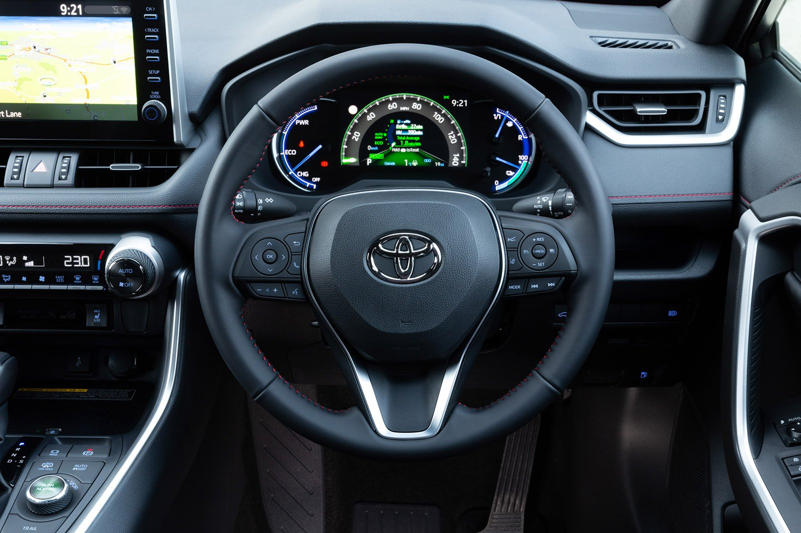 Toyota RAV4 PHEV 2021 RHD dashboard