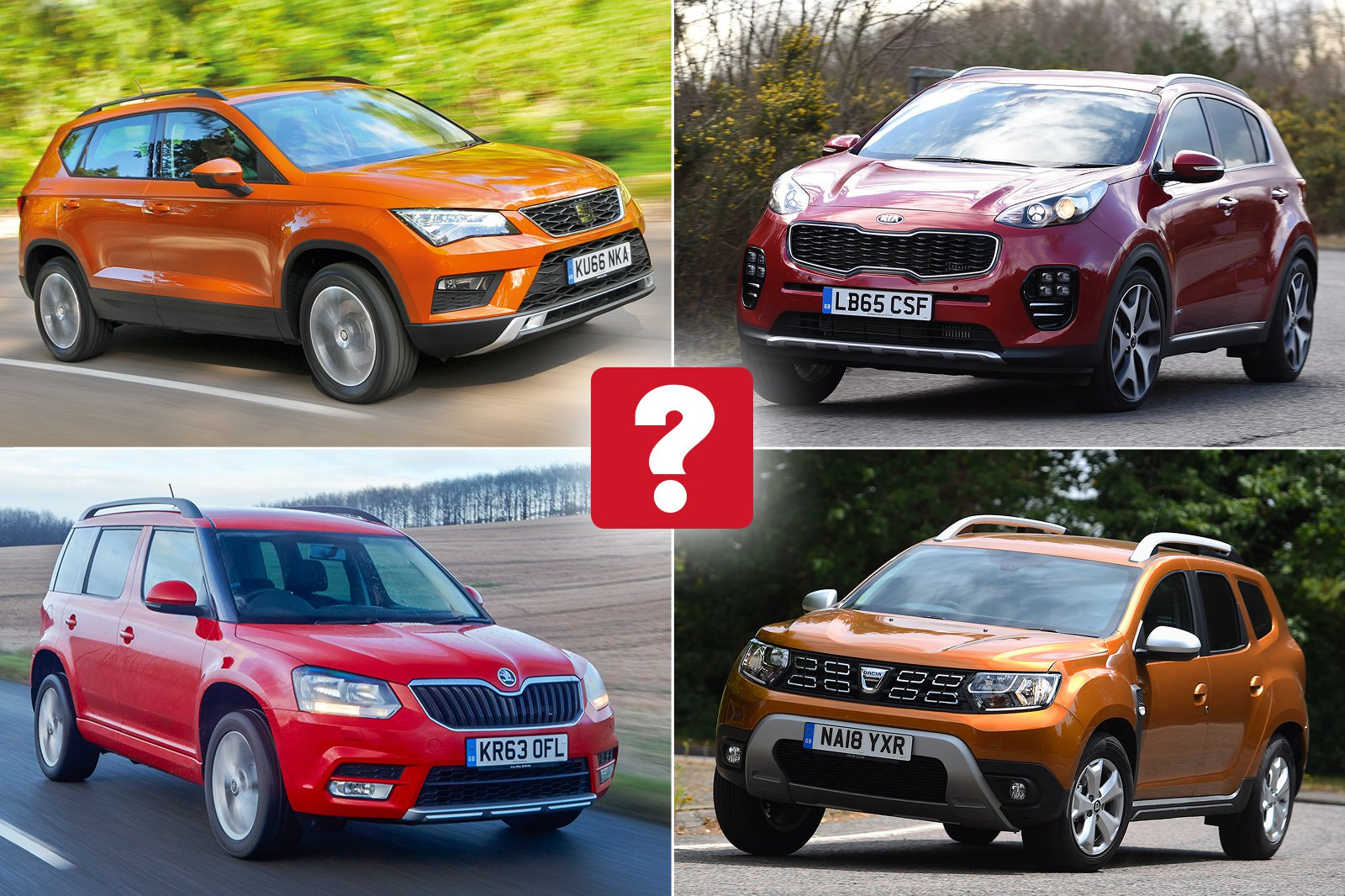 Best used SUVs for less than £10,000