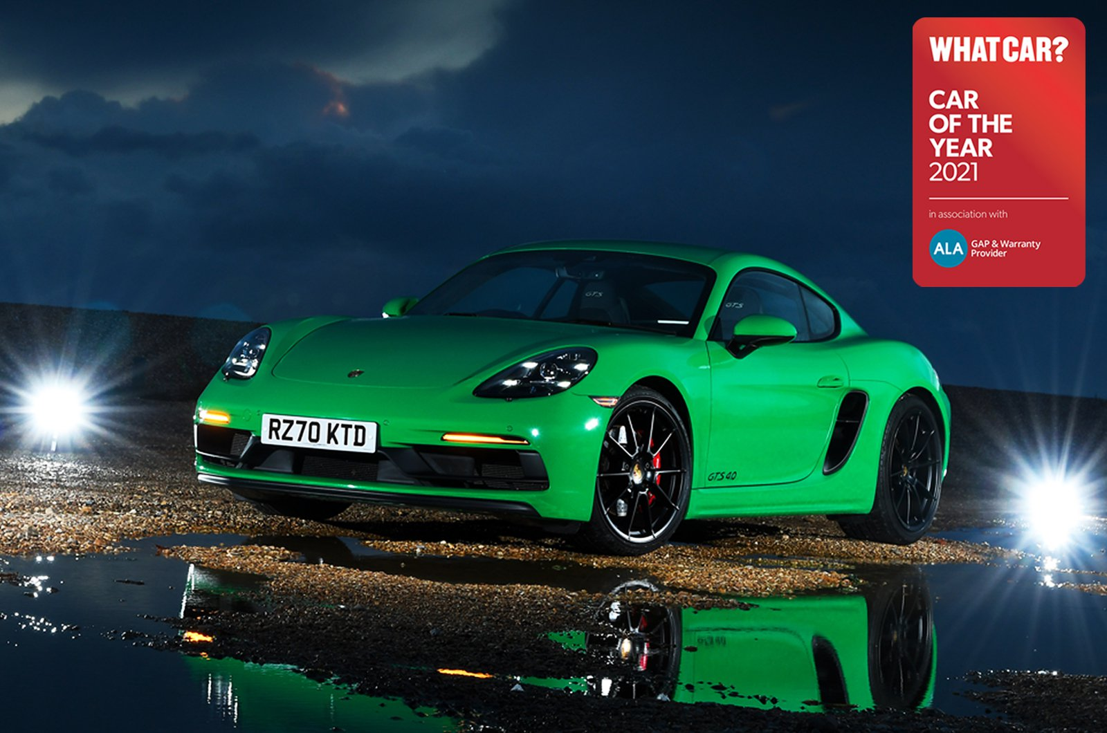 Sports Car of the Year - Porsche 718 Cayman GTS
