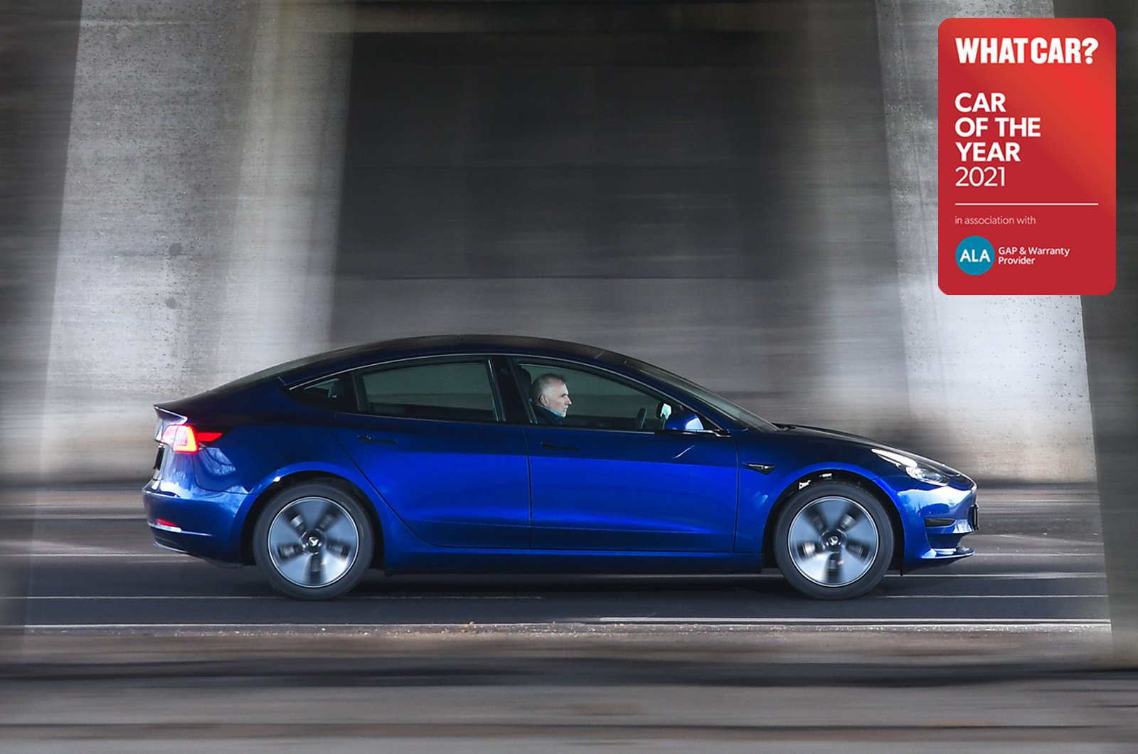 Large Electric Car of the Year - Tesla Model 3