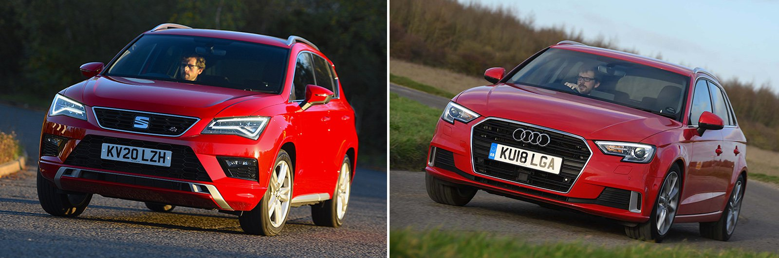 Seat Ateca and Audi A3