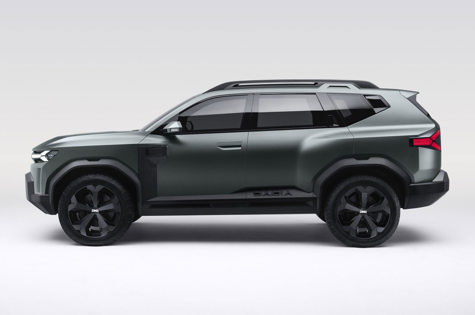 Dacia Bigster concept side