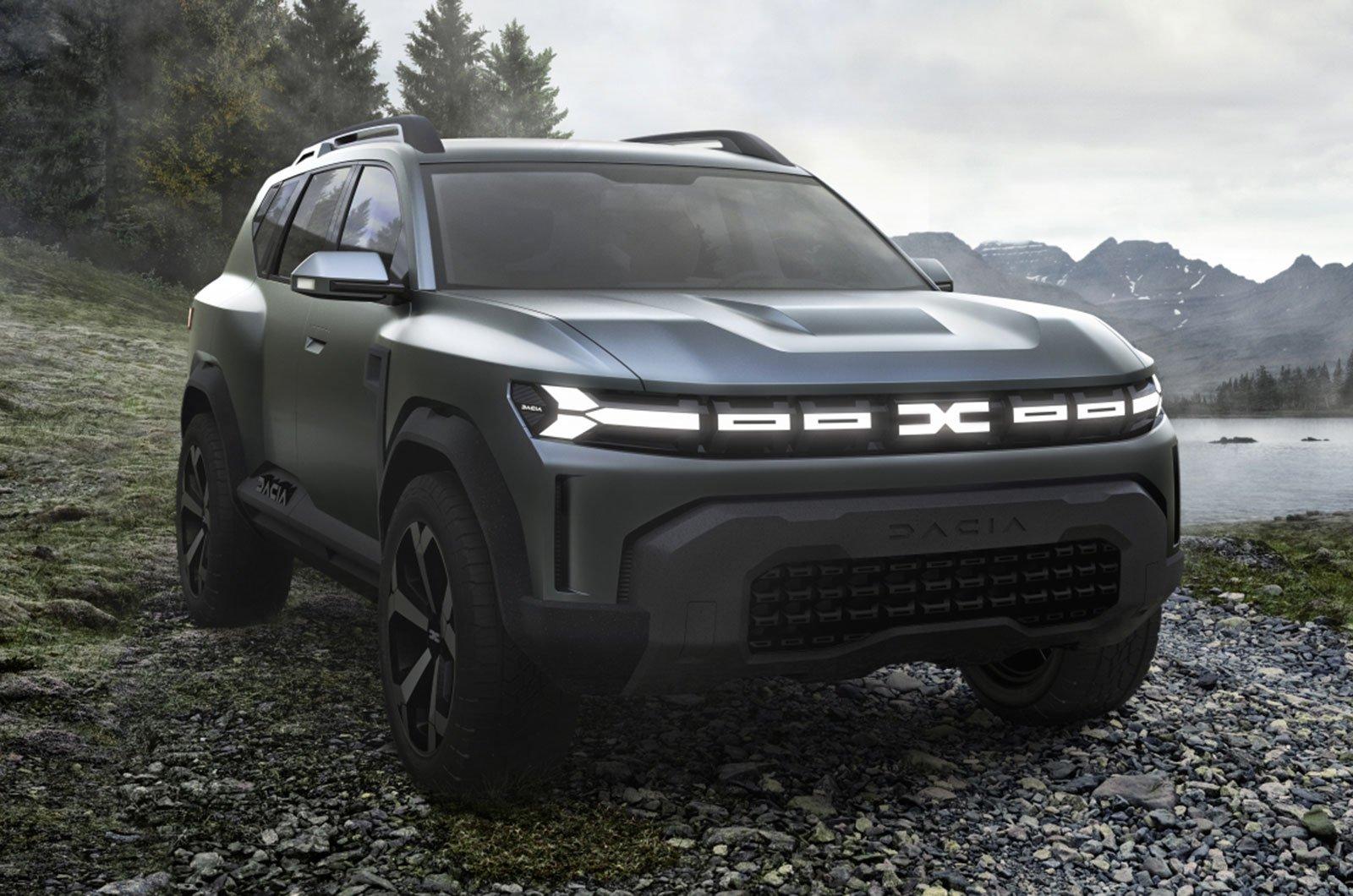 Dacia Bigster concept front