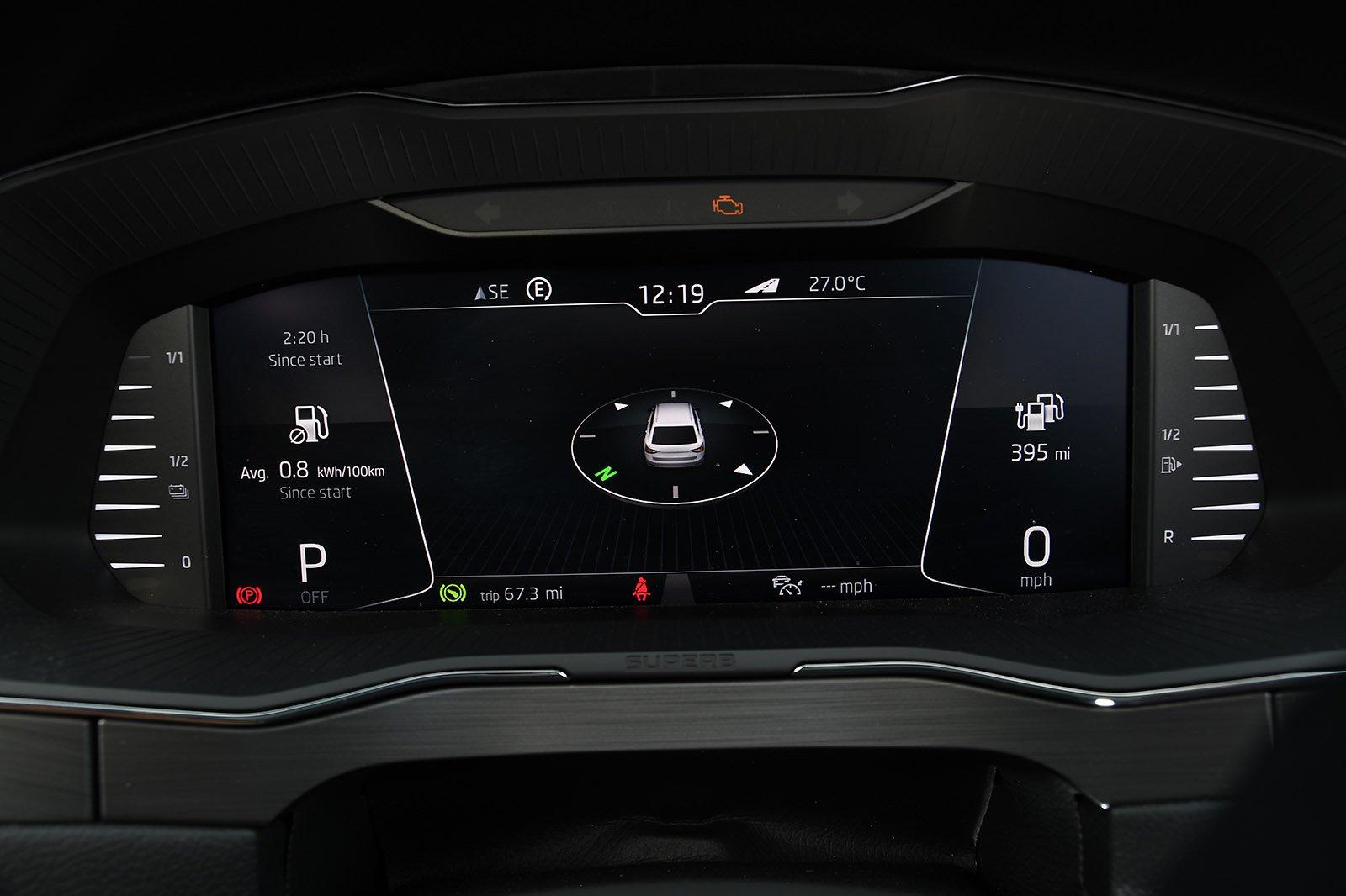 Skoda Superb Estate long-term Virtual Cockpit
