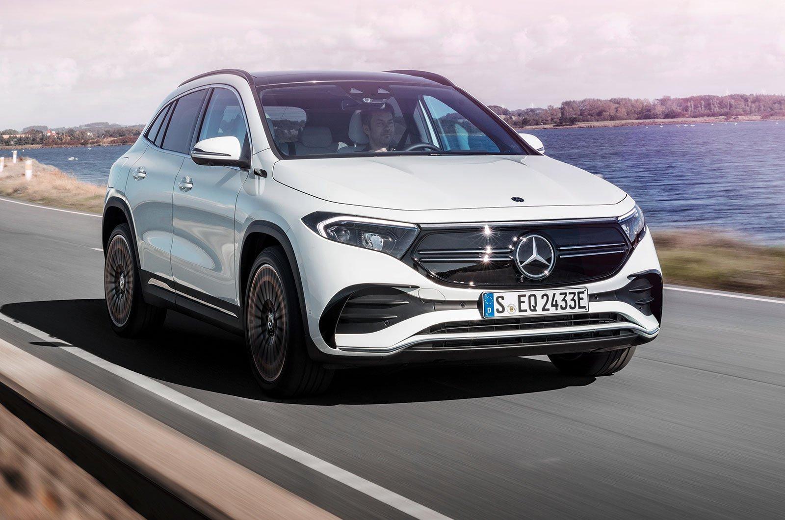 2021 Mercedes EQA front