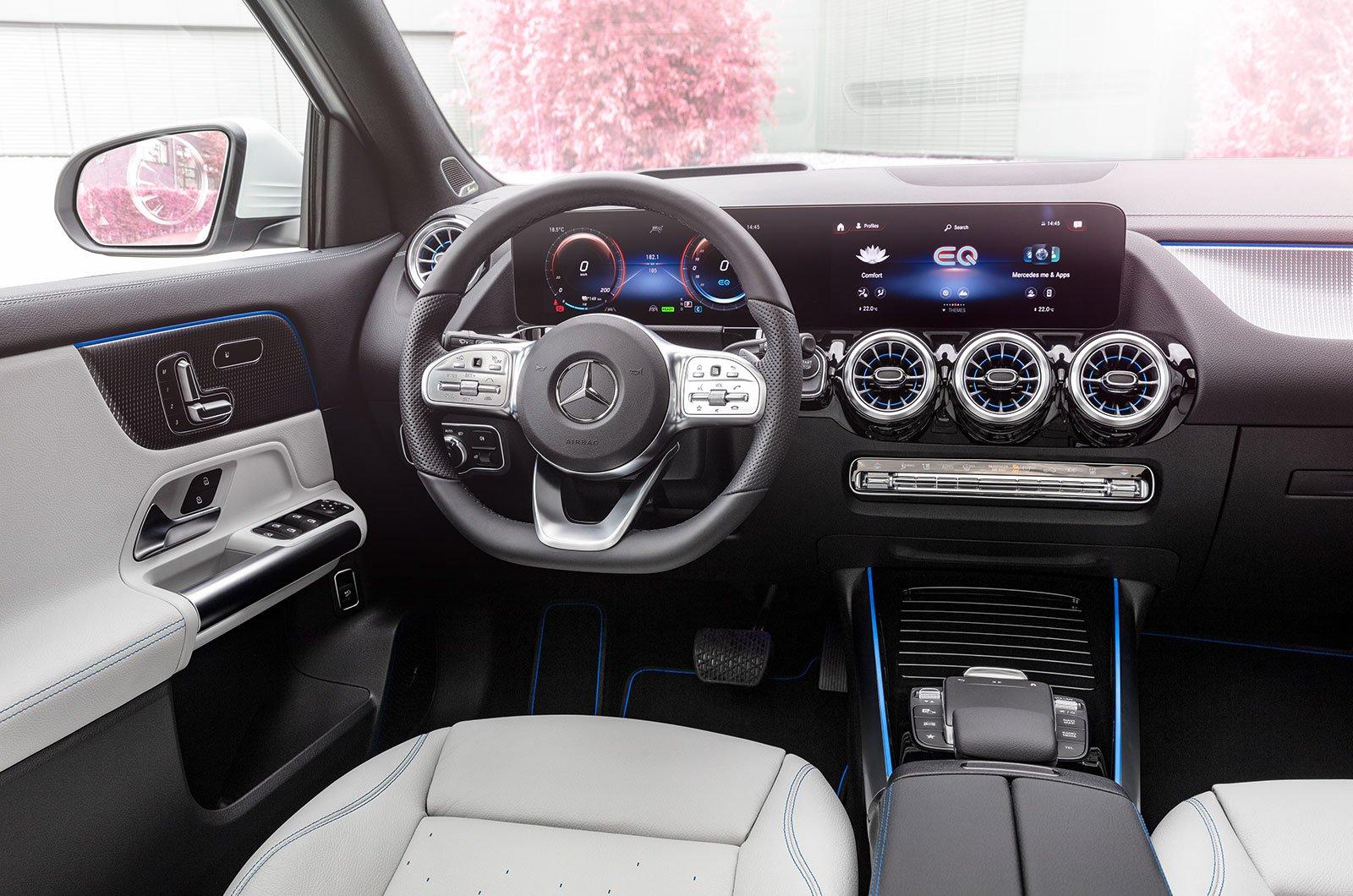 2021 Mercedes EQA interior
