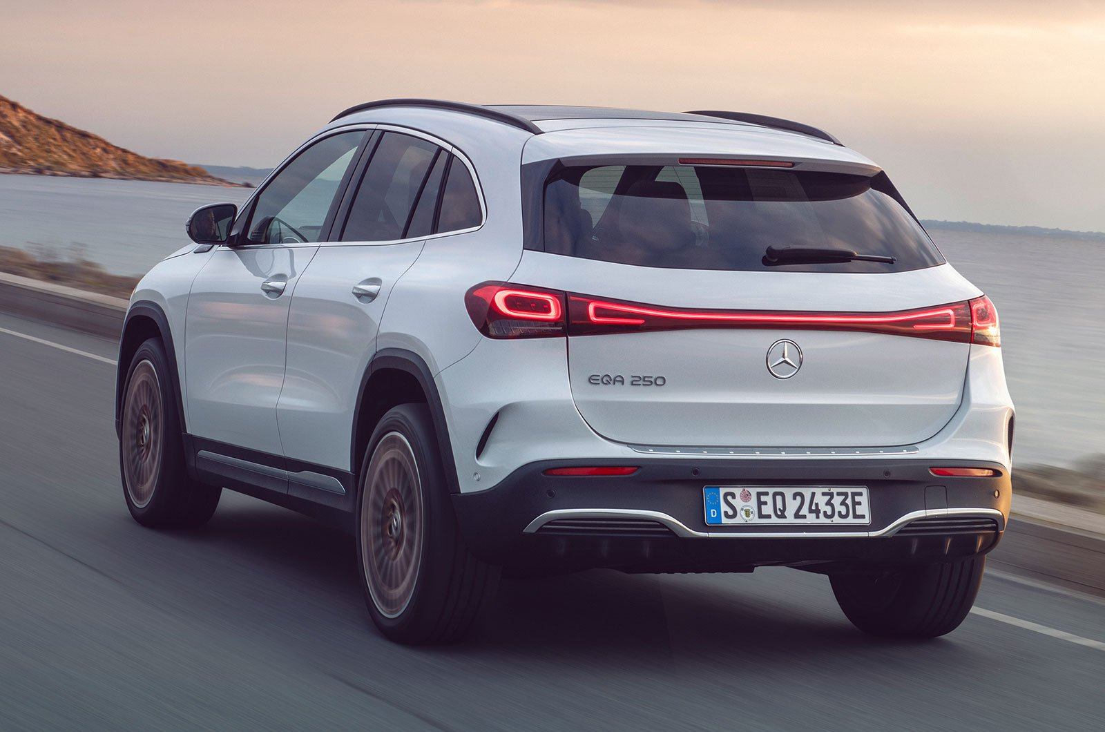 2021 Mercedes EQA rear