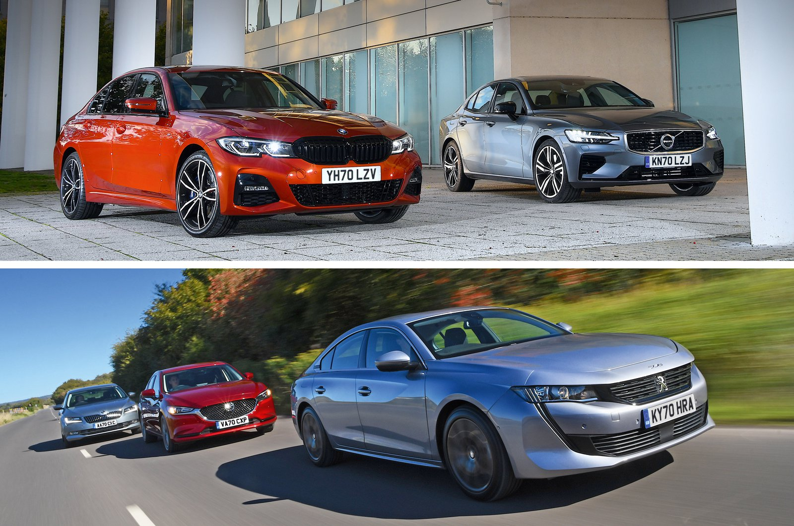 Executive cars 2021